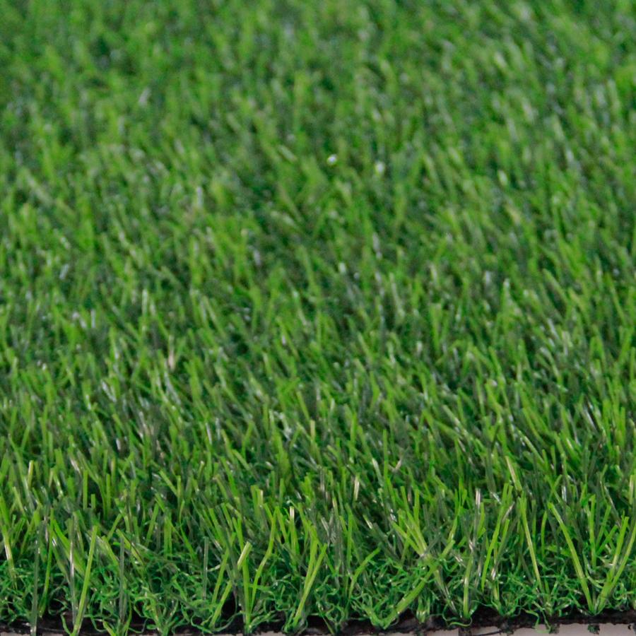 หญ้าเทียมปูพื้น สีเขียวเข้ม ใบหญ้าเล็กบาง