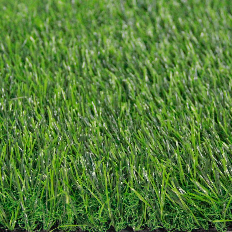 หญ้าเทียมปูพื้น ใบยาว 3.5 cm. 3.5Vสีเขียวล้วน