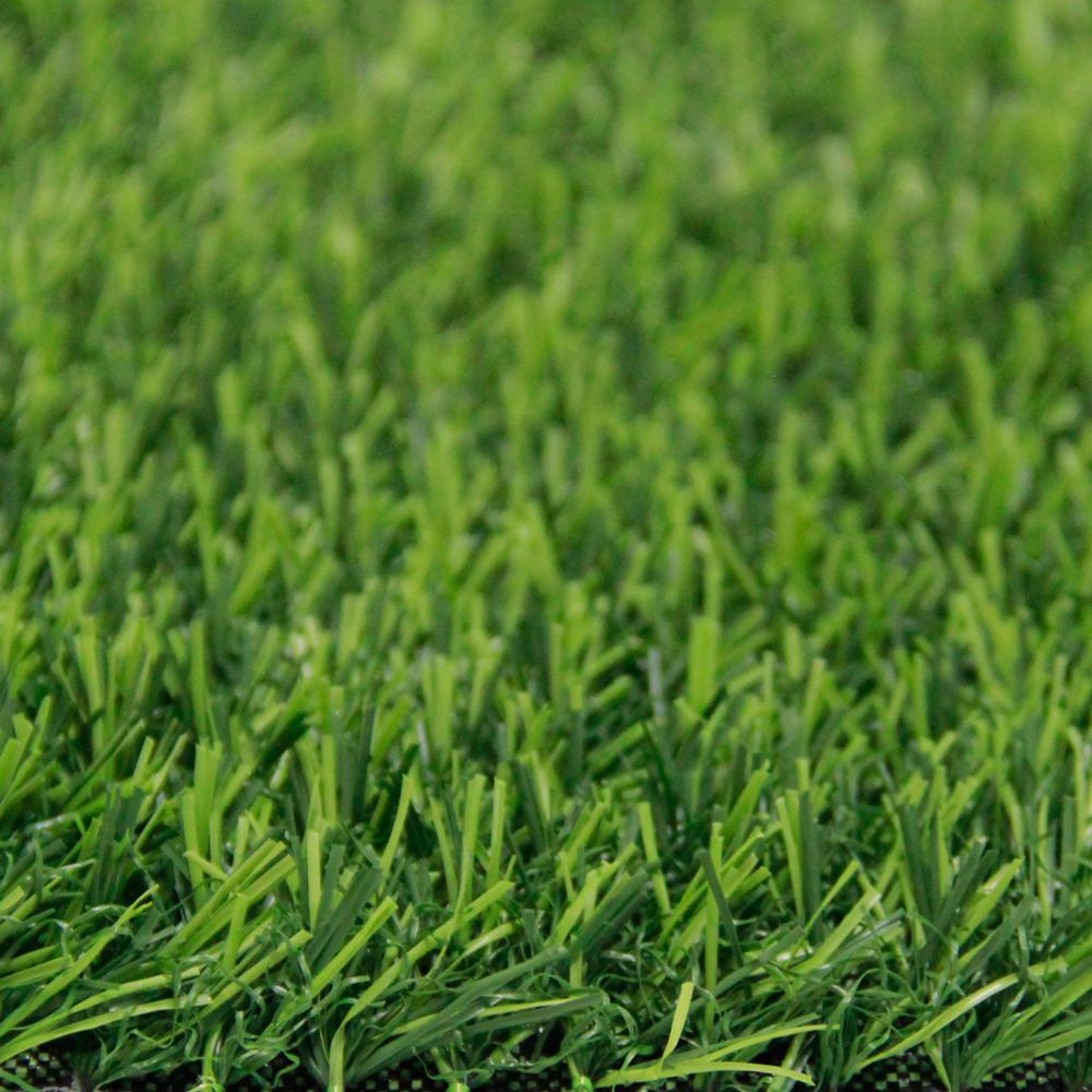 หญ้าเทียมปูพื้น ใบยาว 2 cm. 2Hสีเขียวล้วน
