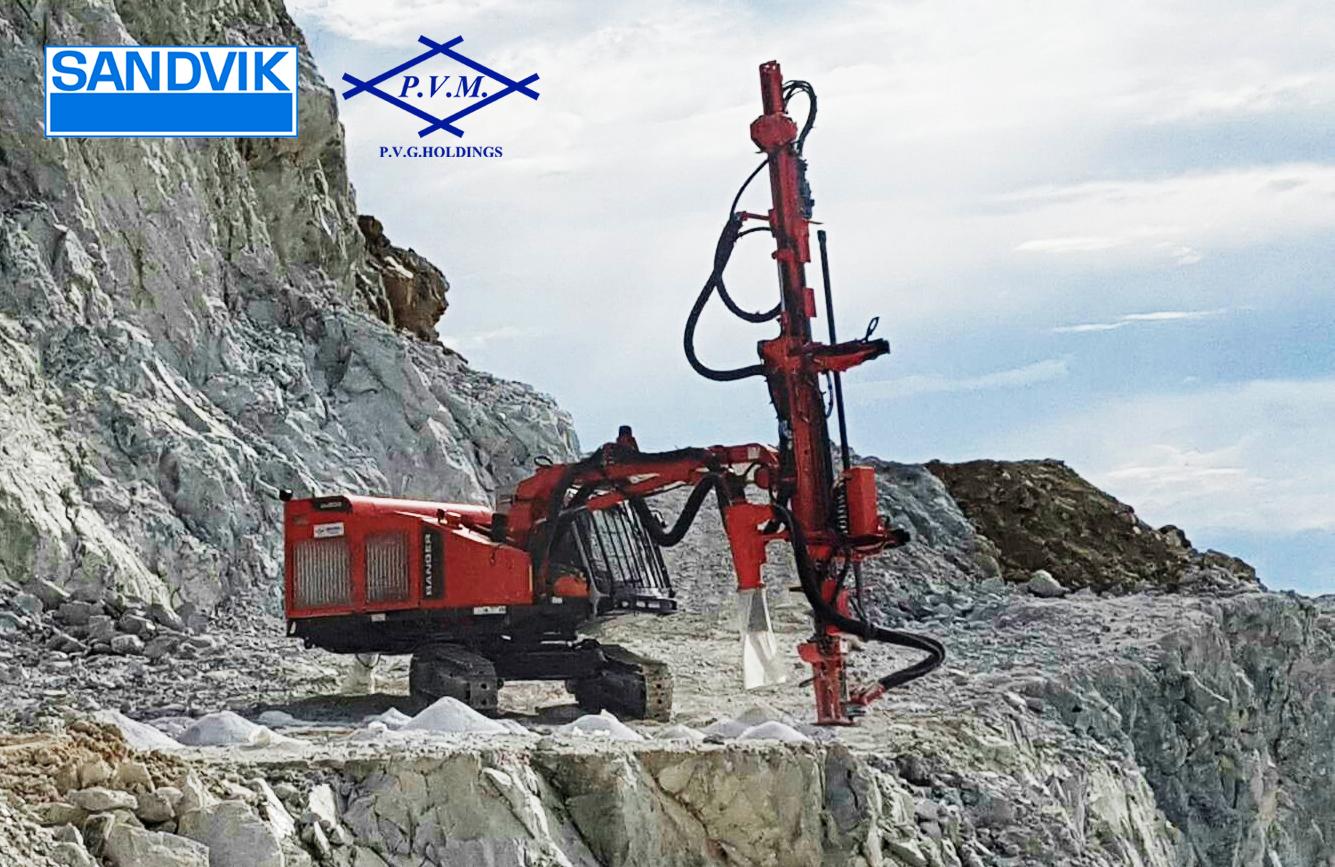 รถเจาะ Sandvik Ranger DX800 [Engine by iGetWeb com]