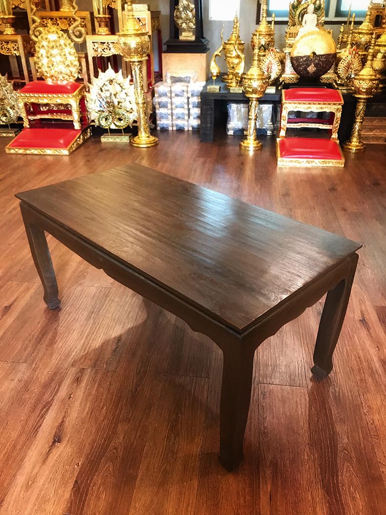 โต๊ะไม้สัก ราคา 7500 บาท