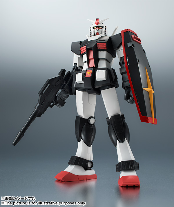 A.N.I.M.E. BANDAI ROBOT SPIRIT SIDE MS RGM-79D GM COLD DISTRICTS TYPE VER